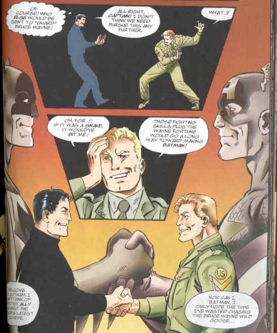 batman meets captain america