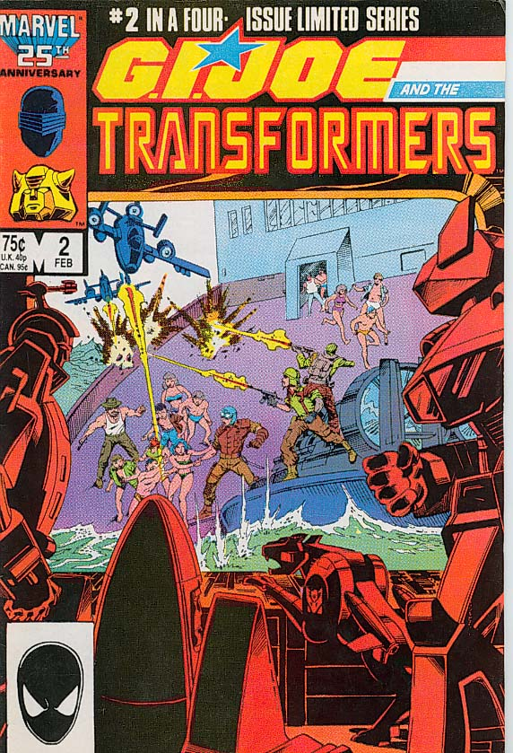 G.I. Joe meets the Transformers Transformers