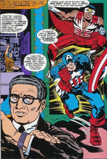 Kapetan Amerika (Captain America) Capkissinger