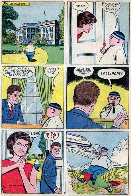 The Fat Fury meets John F. Kennedy, Jacqueline Kennedy ...