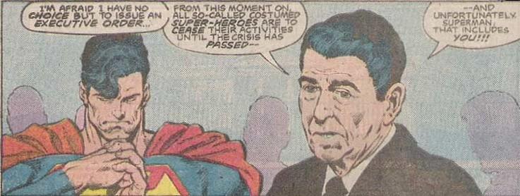 Resultado de imagen de superman george bush